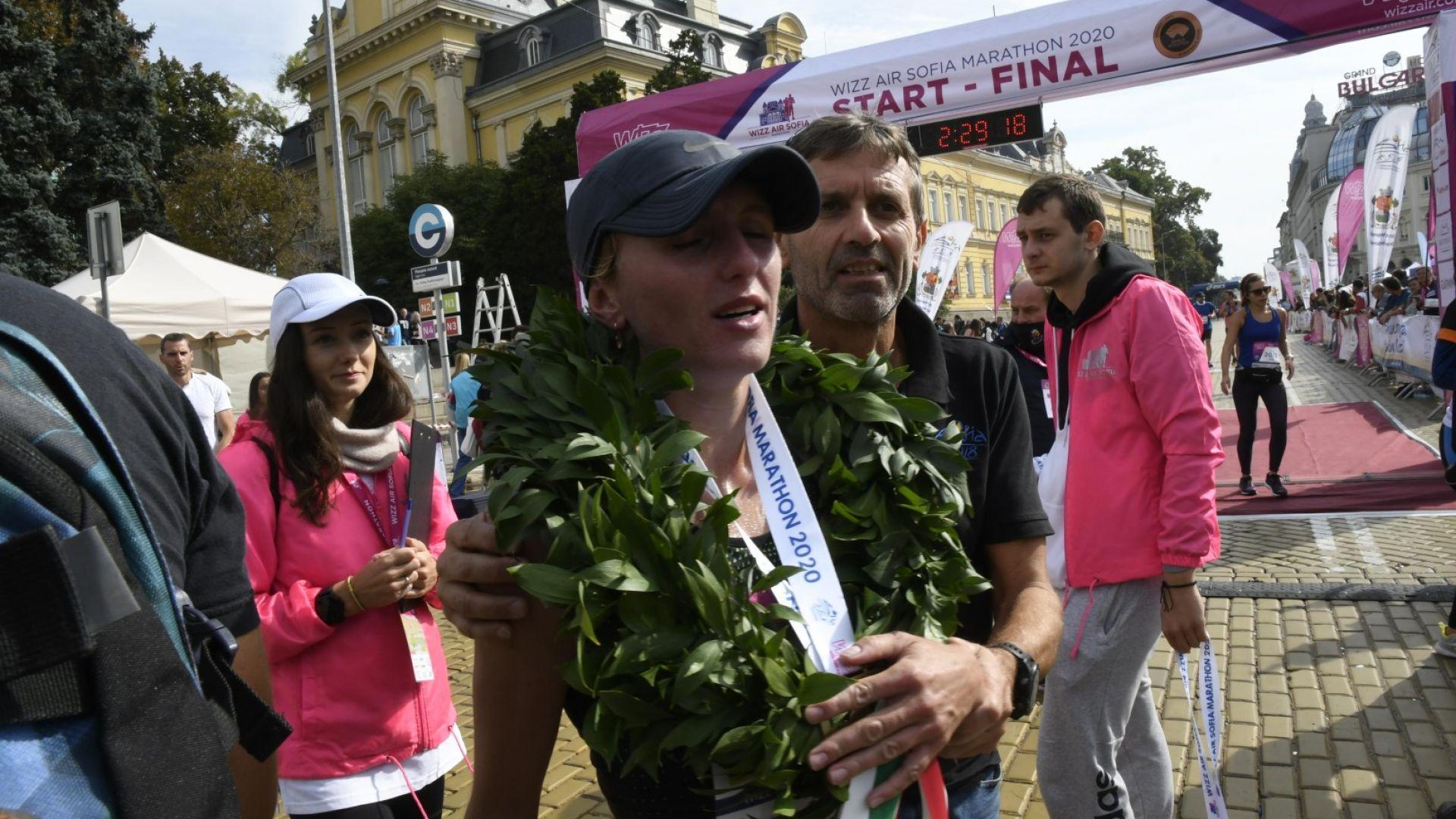 4 години наказание за победителката в Софийския маратон