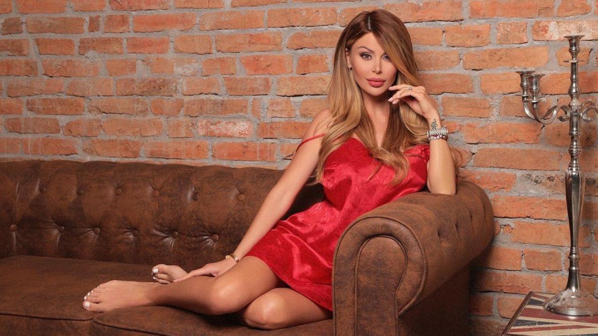 Светлана Гущерова роди тайно второто си дете