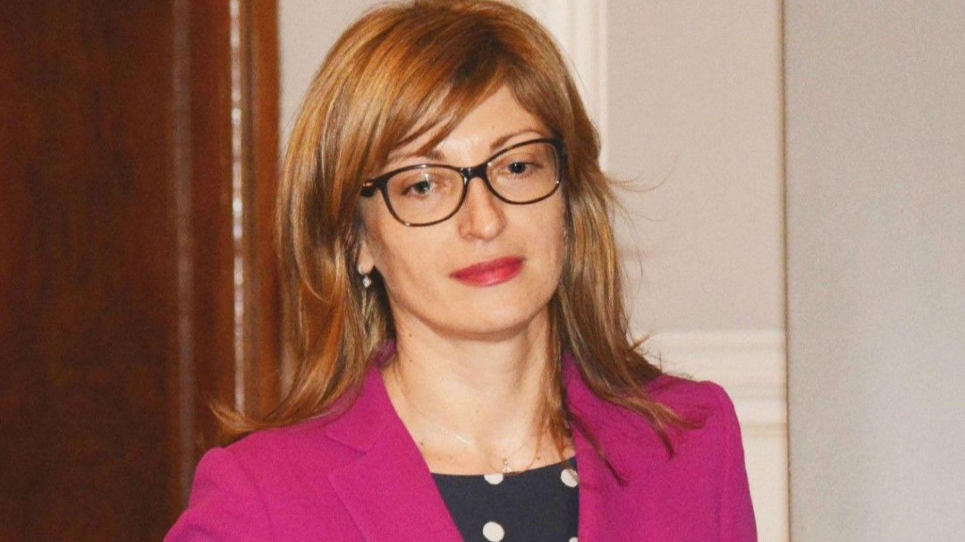 Захариева: Не са водени разговори с мен за поста министър-председател