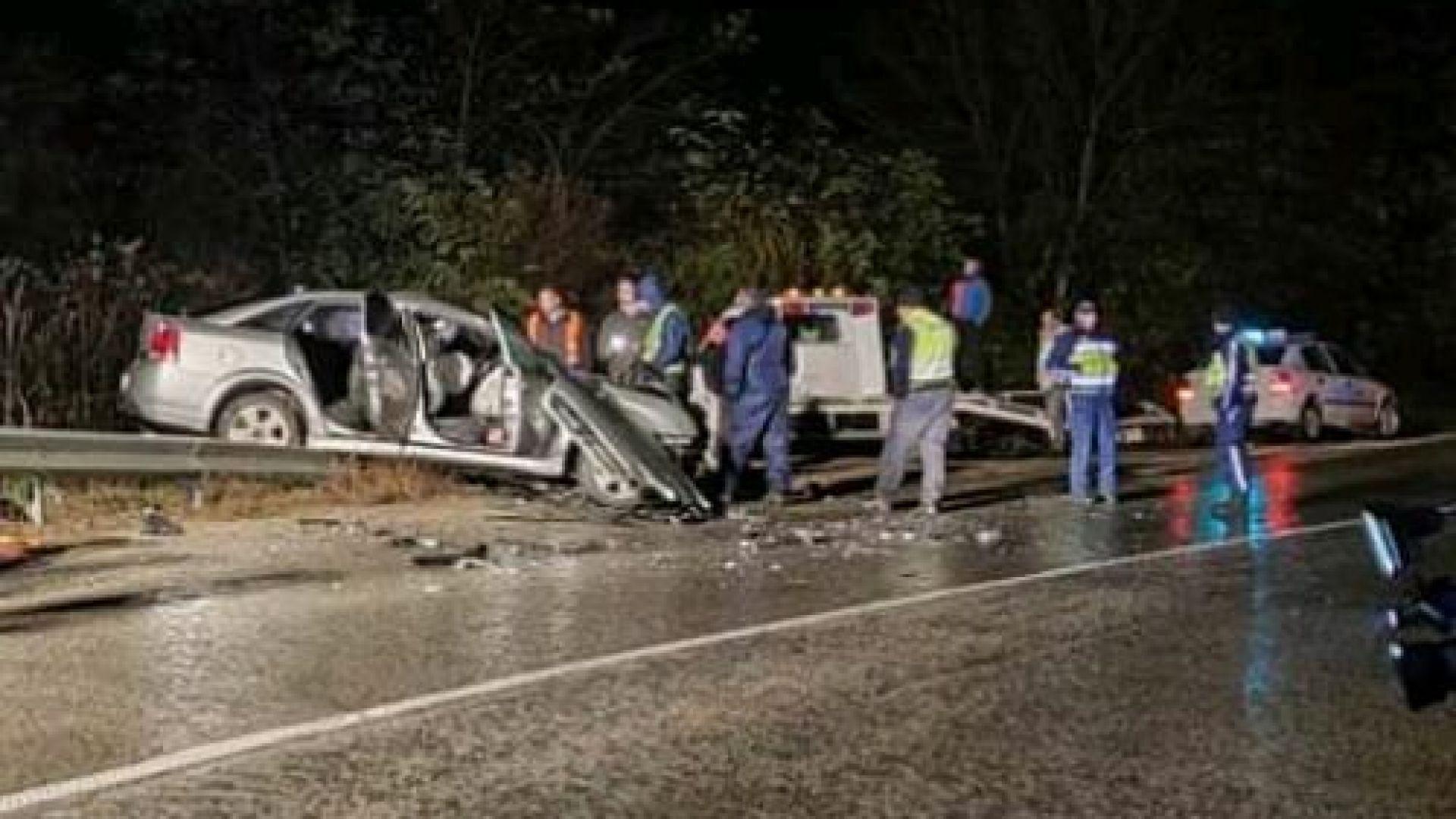 Шофьор загина, петима са ранени при сблъсък на пътя София-Варна