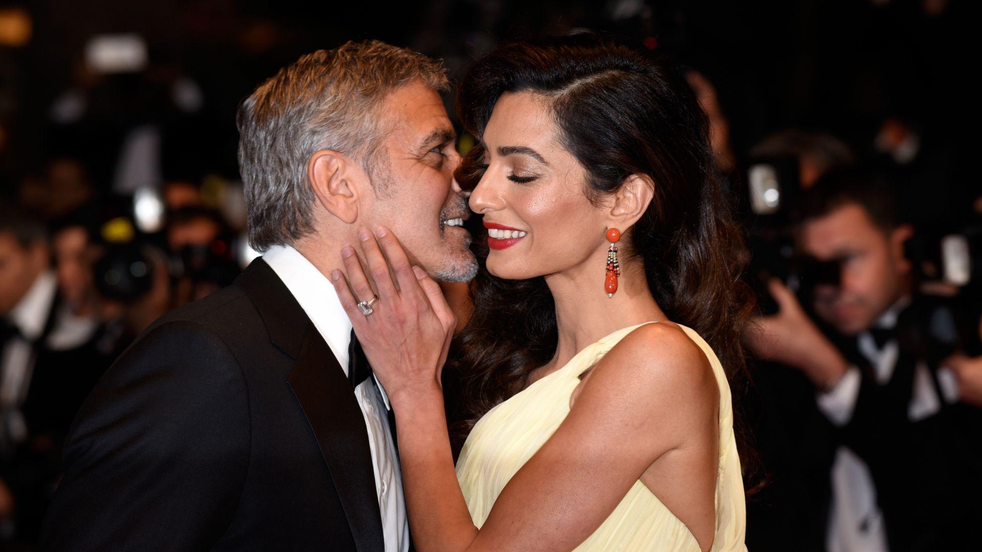 Любов по време на пандемия: Джордж Клуни пише романтични писма на Амал