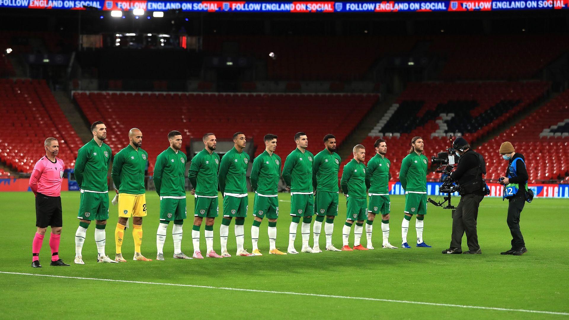 Скандал в Ирландия заради политическо видео преди мач срещу Англия
