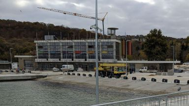 Новият рибен порт във Варна е почти готов (снимки)