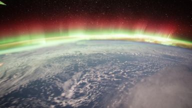 Вижте Северното сияние от космоса (видео и снимки)