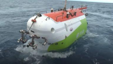 Историческа мисия: Китайски батискаф се потопи до дъното на Марианската падина