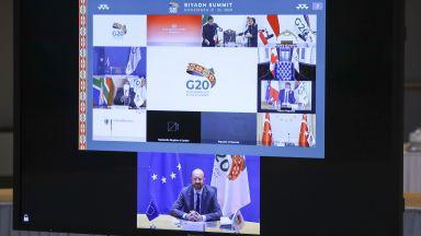 Лидерите на Г-20 се разбраха - достъп до ваксина срещу коронавируса за всички