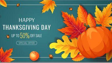 В Денят на благодарността- големи разпродажби и подаръци