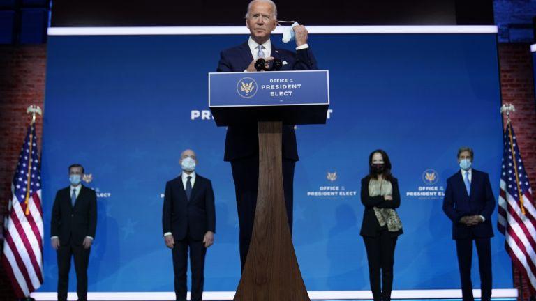 Избраният за президент на САЩ Джо Байдън представи на брифинг