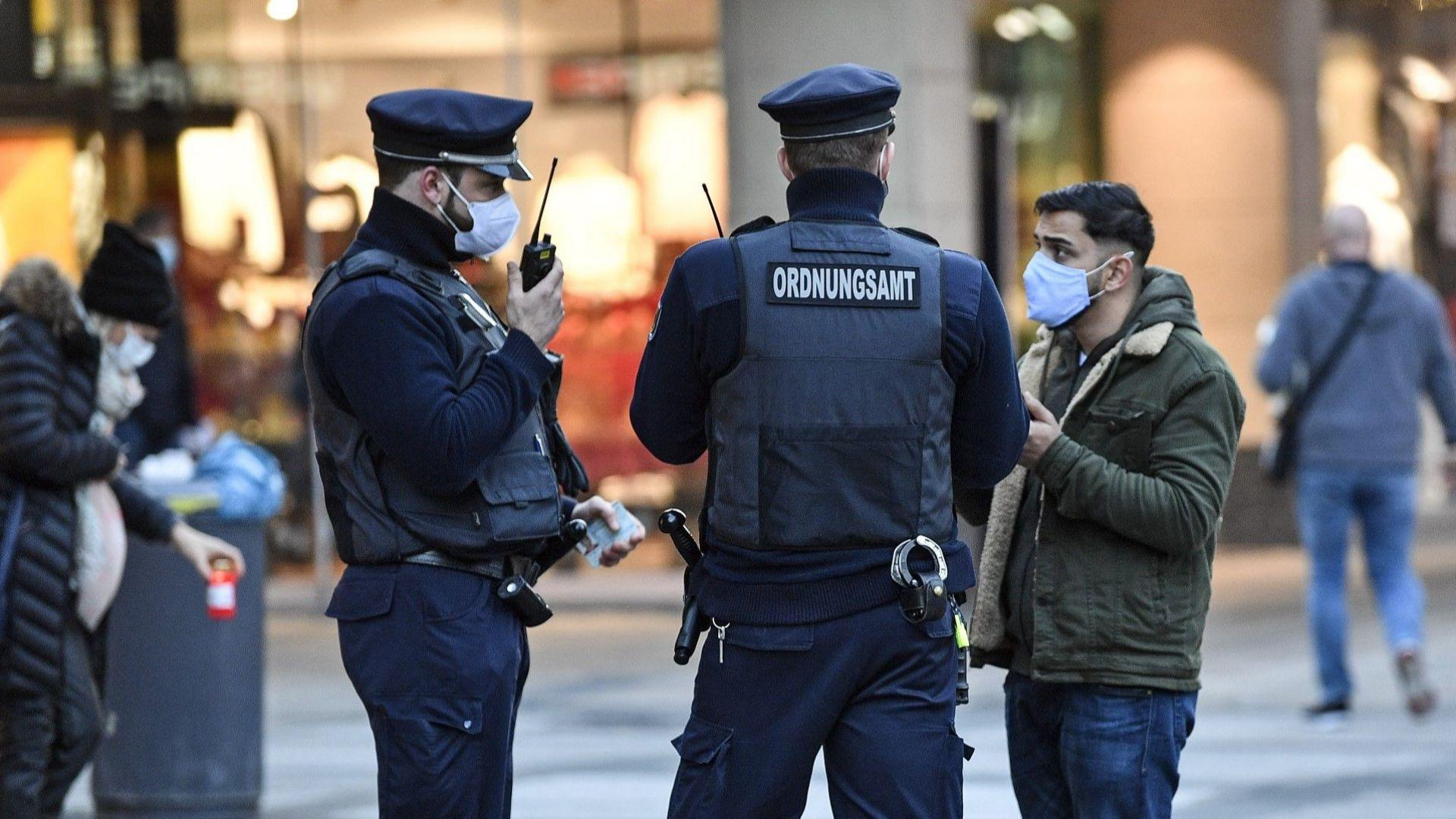 Германската полиция прекъсна купон в бар за неспазени противоепидемични мерки