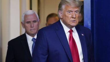 В първото си интервю след вота: Тръмп отказа да приеме изборните резултати