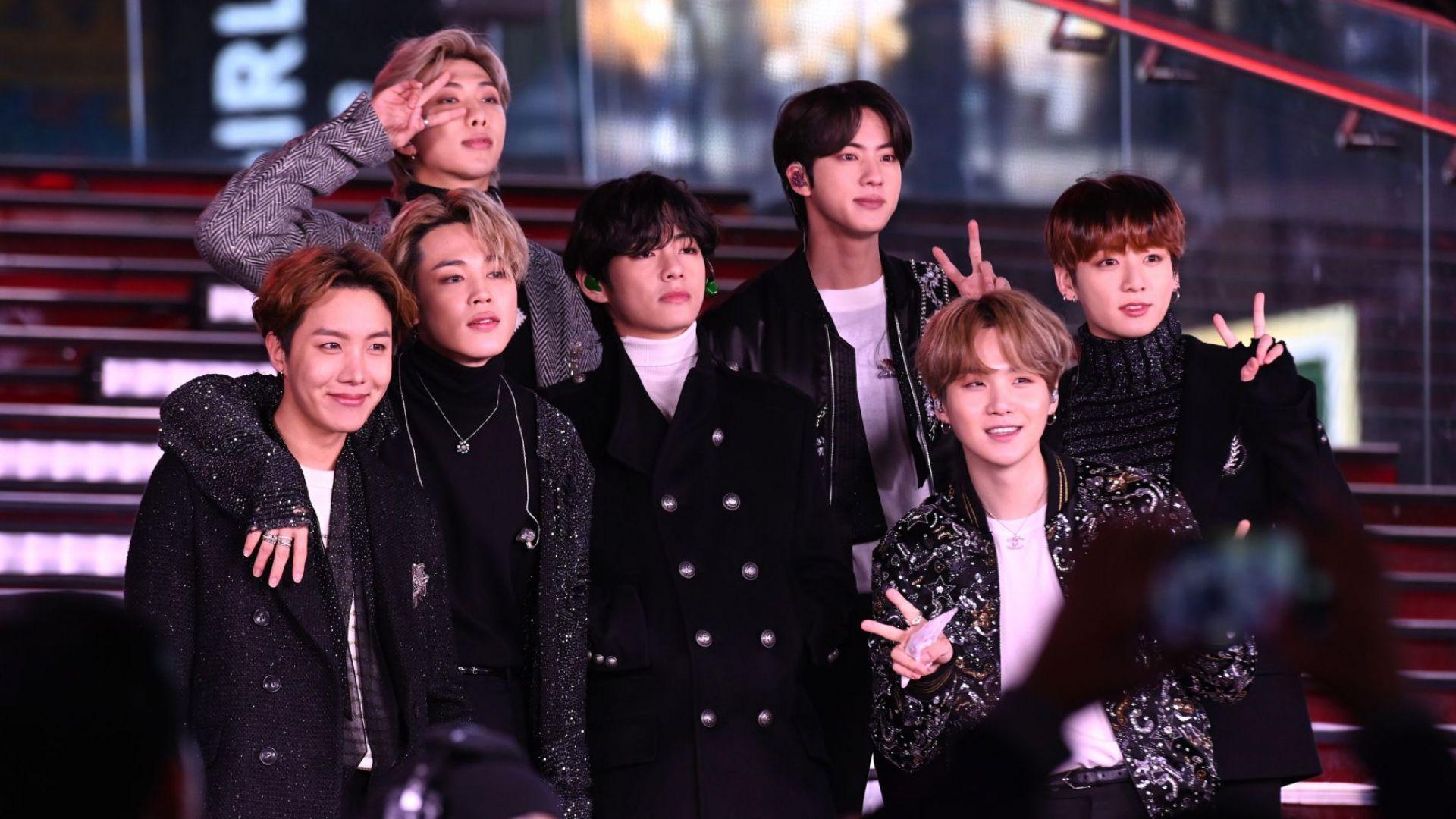 """BTS станаха първата кей-поп група с номинация за """"Грами"""""""