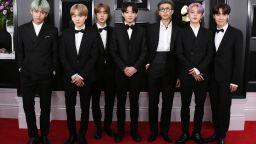 Момчетата от BTS представиха мъжката колекция Louis Vuitton в южнокорейски филм