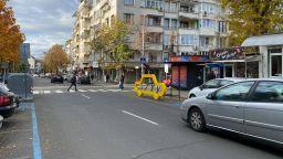 Пътни инсталации повишават безопасността на пешеходците в Бургас