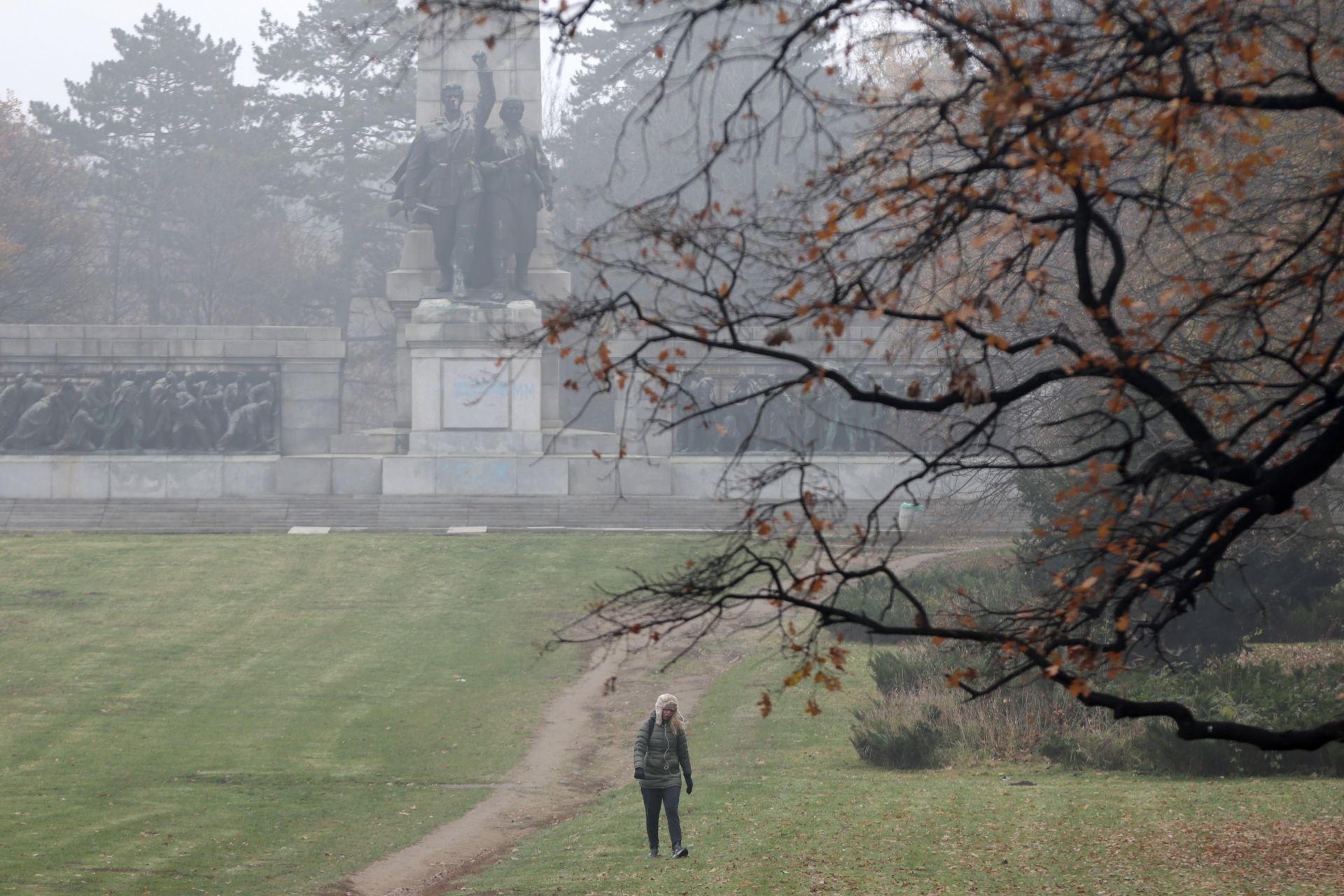 Мъгла в Борисовата градина