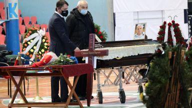 Баскетболни легенди и приятели си взеха последно сбогом със Симеон Варчев