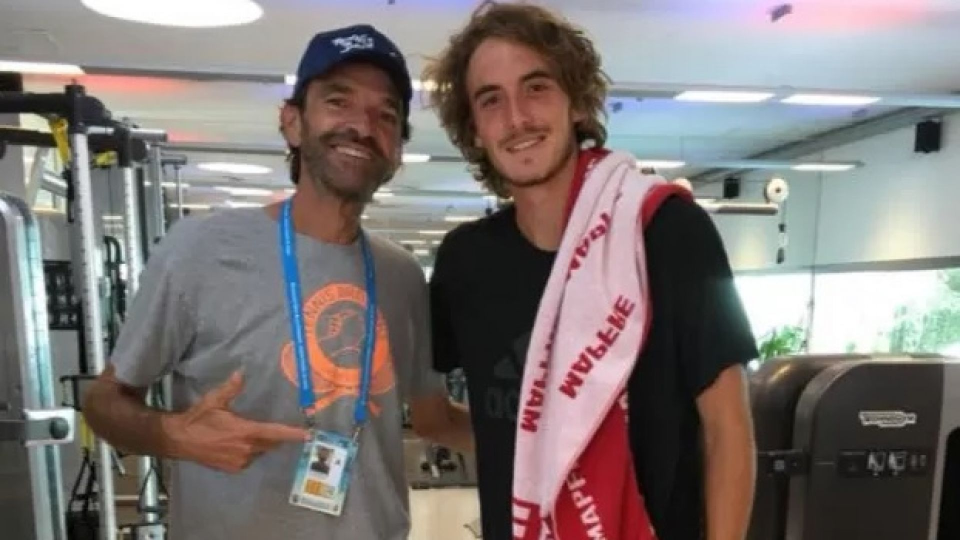 Циципас написа прочувствено писмо към починал тенис треньор