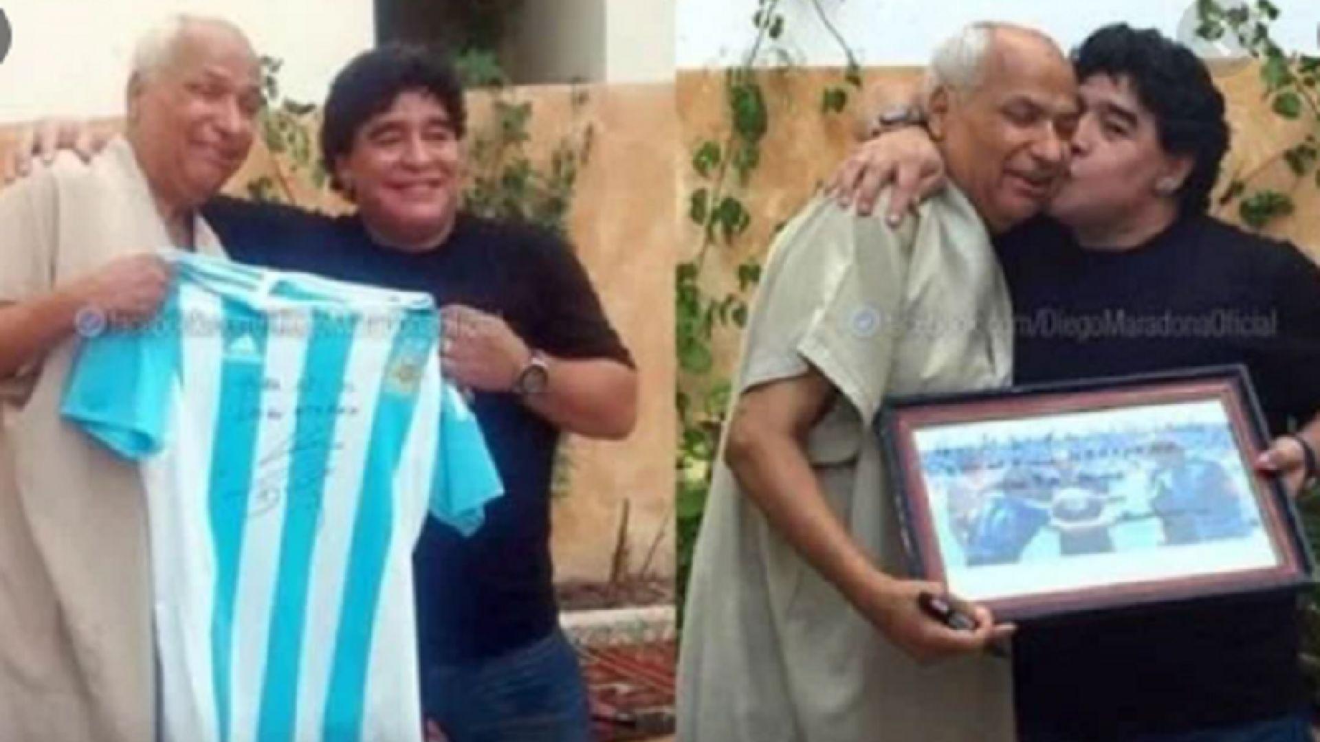 Тунизийският рефер Бин Насер: Горд съм, че бях част от великия гол на Марадона