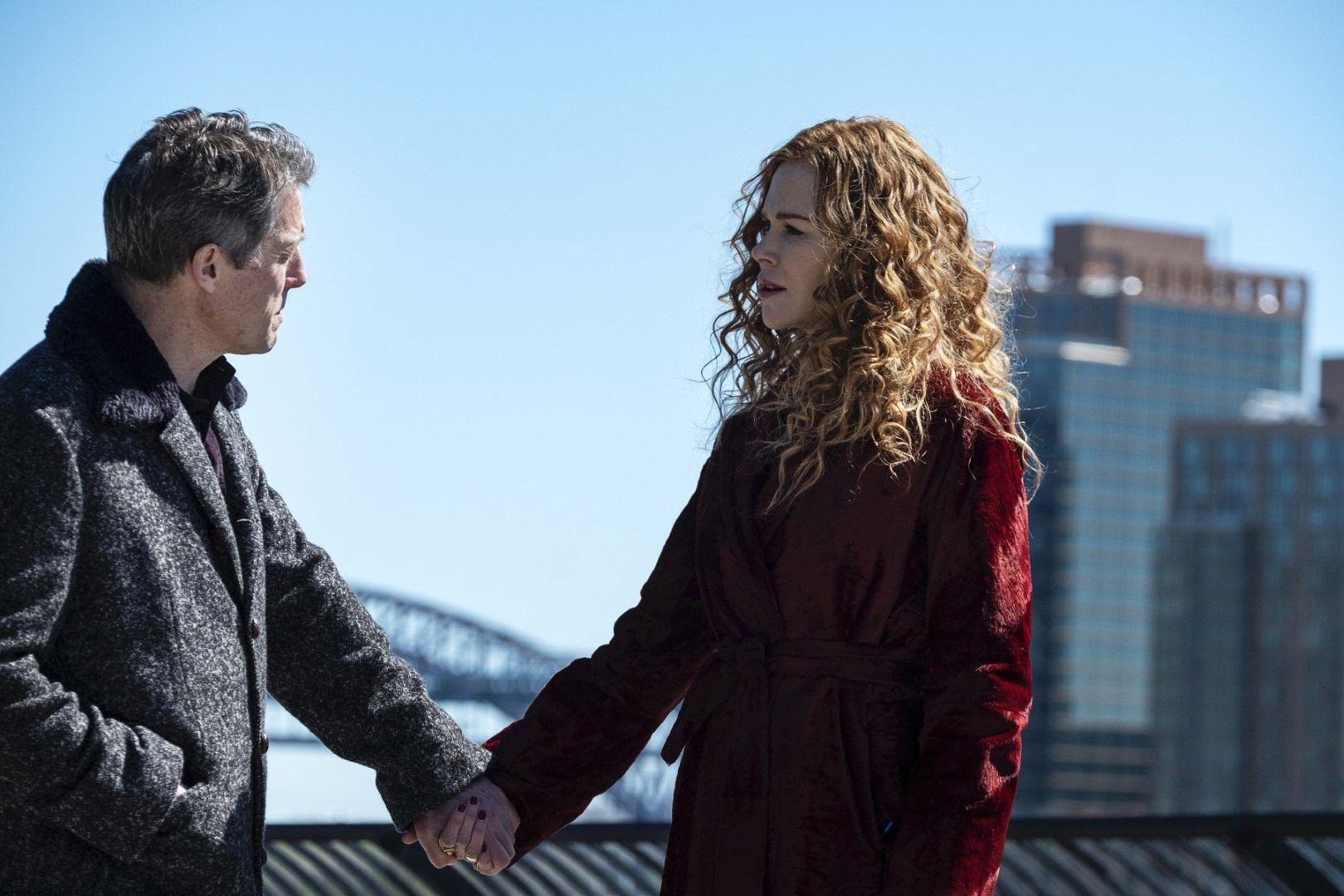 """Грейс (Никол Кидман) и Джонатан (Хю Грант) в минисериала """"Отмяната"""" на HBO (Снимка: HBO)"""