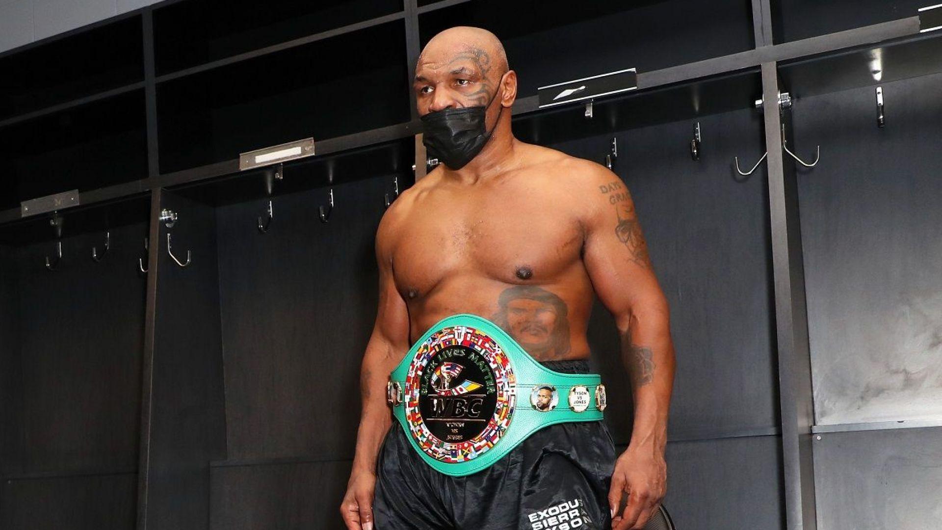 Ново разкритие на Тайсън - халюциногени му казали да се върне на ринга