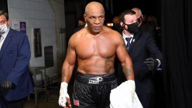 Великият Тайсън се завърна на ринга, но мачът му не излъчи победител