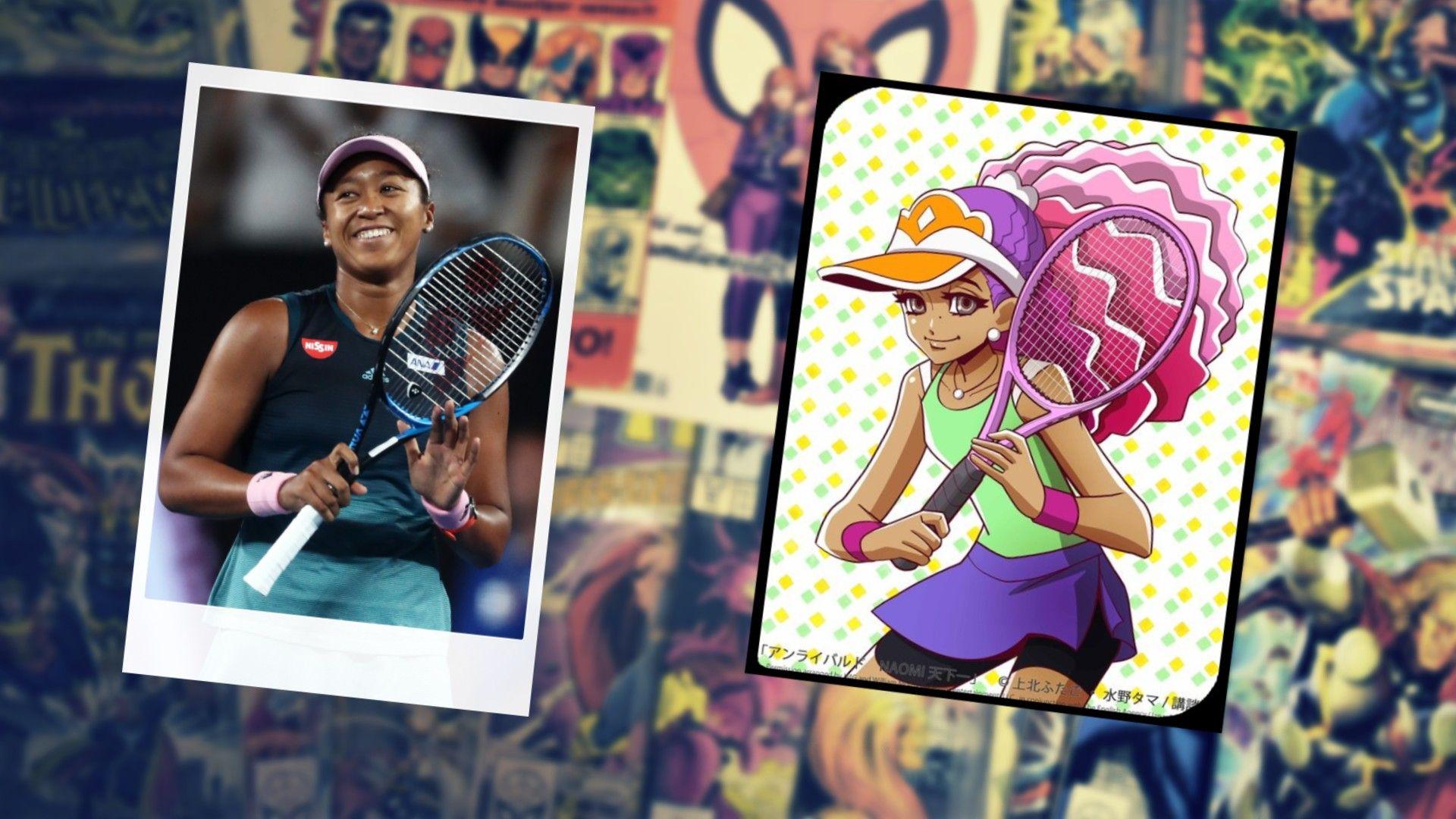 Наоми Осака влезе в комикс с розова коса и търси място в сърцата на японците