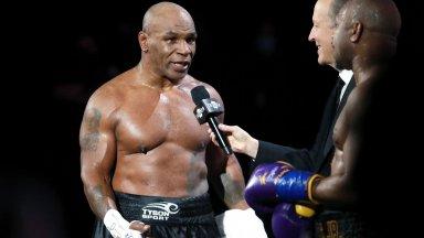 Майк Тайсън разкри, че е бил напушен при завръщането си на ринга