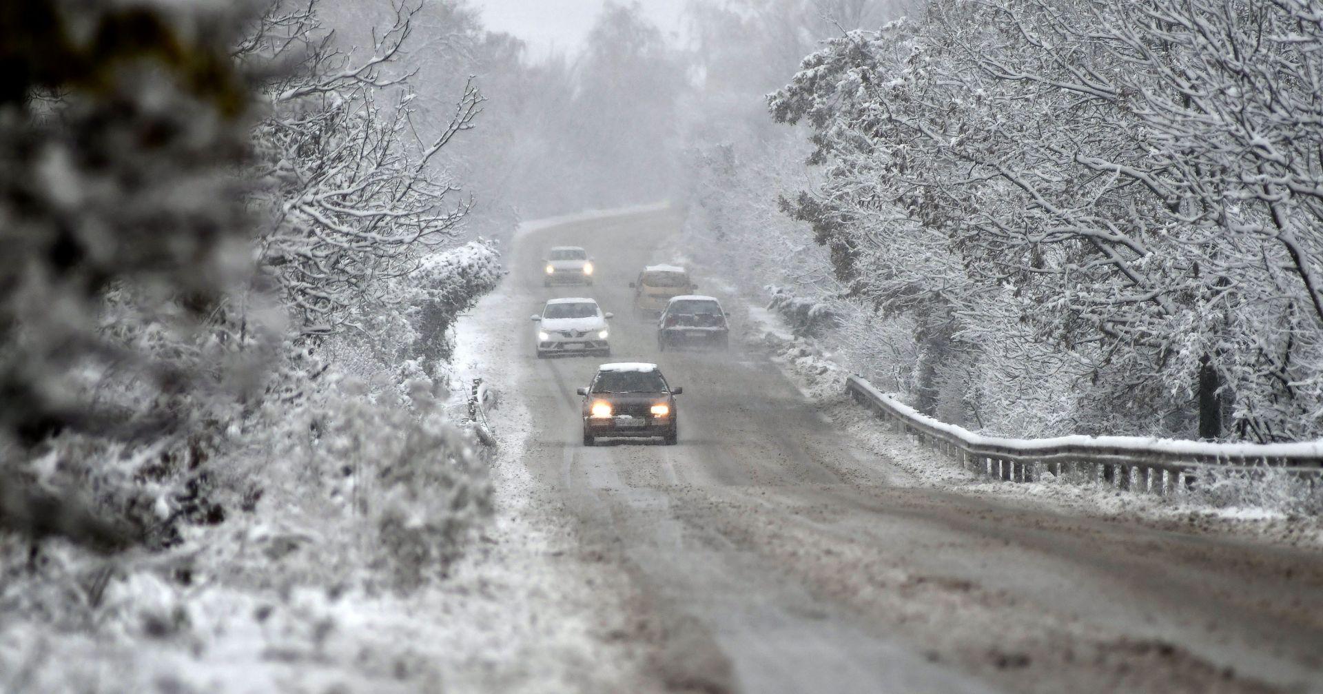 Сняг в Исперих