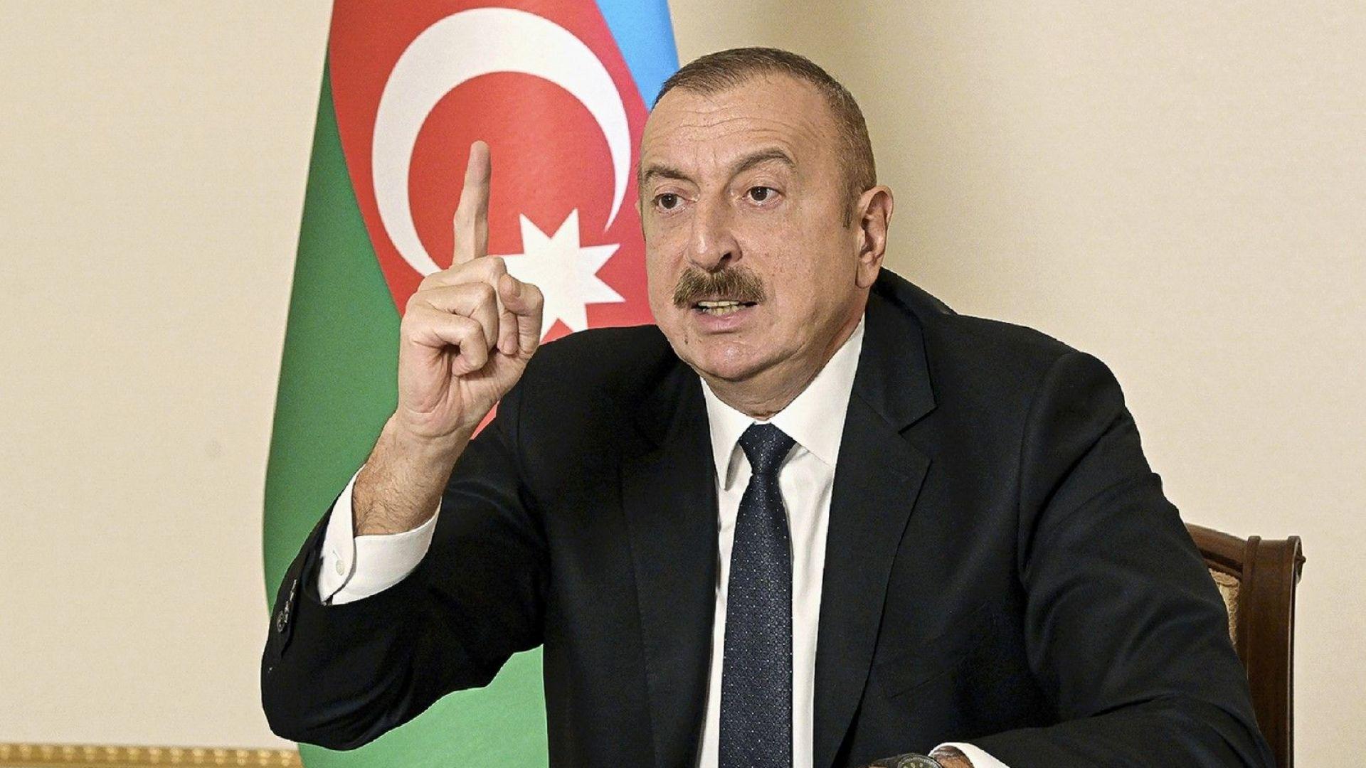 Азербайджанският президент: Думите на Байдън за геноцида са историческа грешка