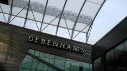 Британските магазини Debenhams влизат в процедура по ликвидация