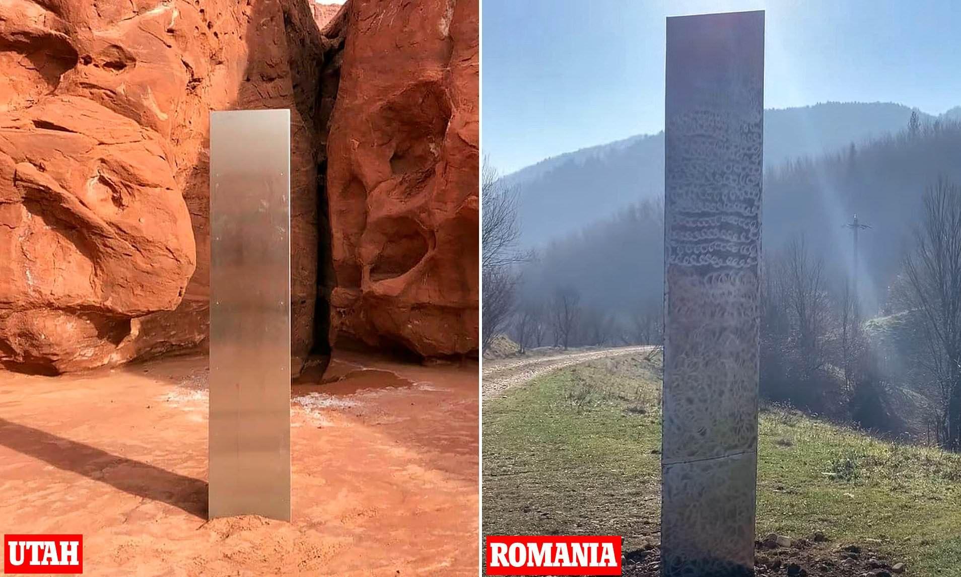 Монолитът в САЩ и Румъния