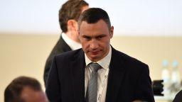 Избраният за трети път за кмет на Киев Виталий Кличко положи клетва