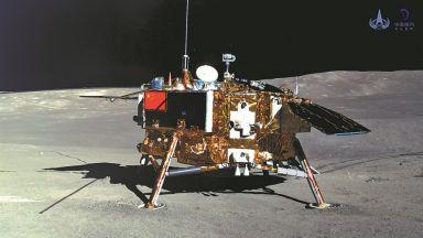 Китай започна да събира материали от Луната