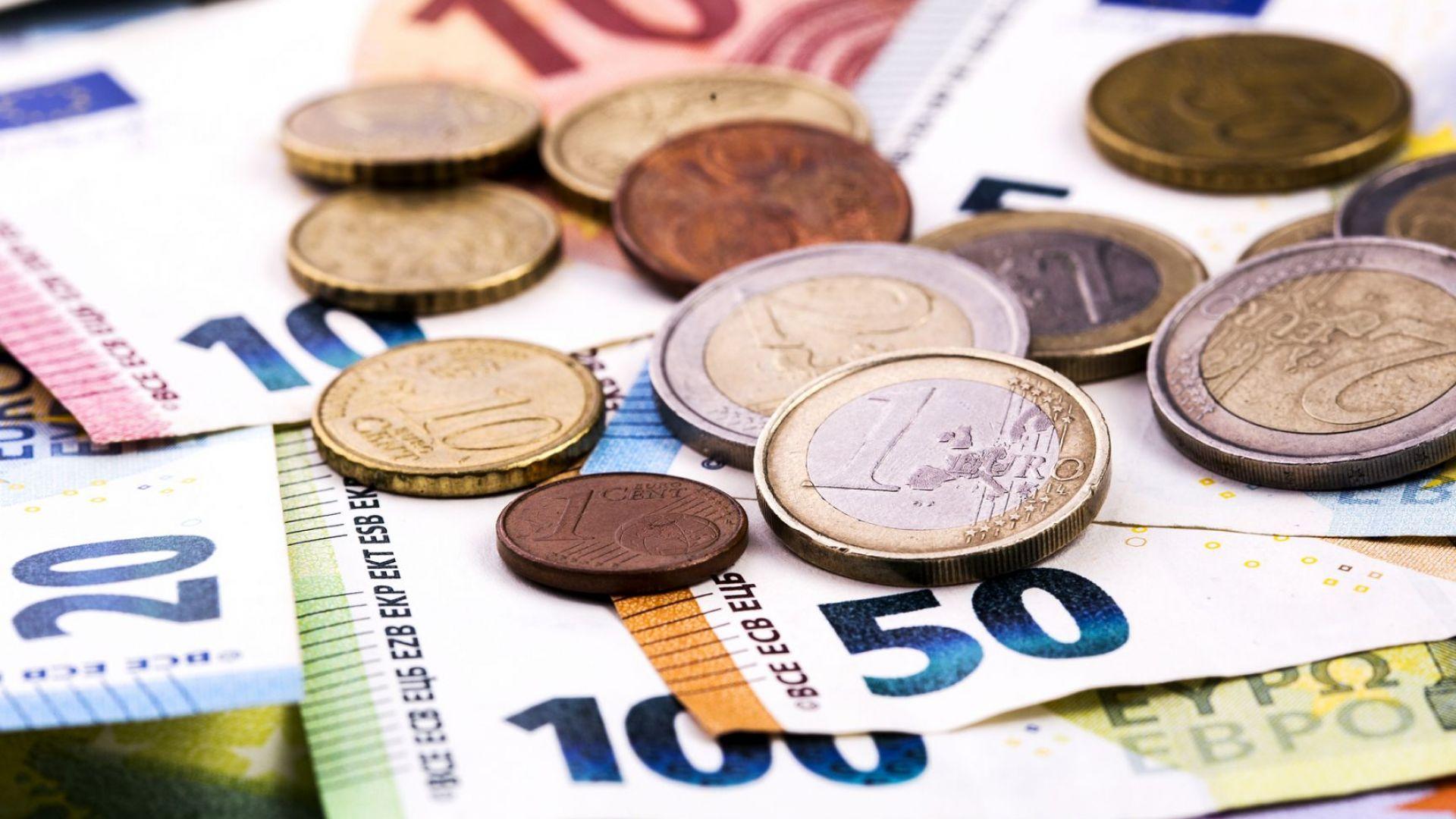 ЕЦБ: Все по-малко покупки в еврозоната се плащат в брой