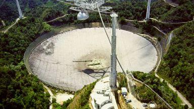 Защо рухналият телескоп в Пуерто Рико бе толкова важен за човечеството (снимки)