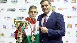 Първа титла за България на Европейското по бокс в София