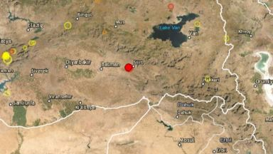 Земетресение от 5 по Рихтер в Турция