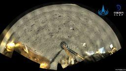 Китай пусна видео от кацането си на Луната (видео)