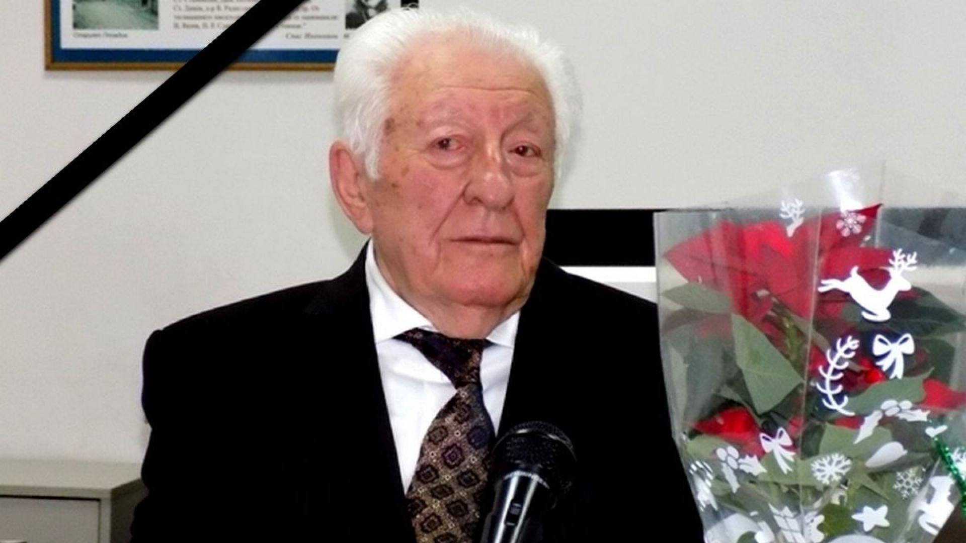 COVID-19 погуби бащата на Стефан Шарлопов - известния журналист Христо Шарлопов