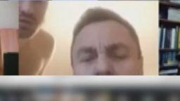 Нов скандал: Литовски депутат участвал в служебен чат с гол мъж зад гърба си (видео)