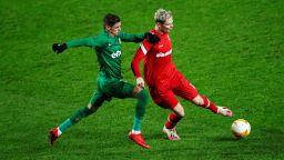 Антверп - Лудогорец 1:1 (на живо), първи гол на Десподов в зелено