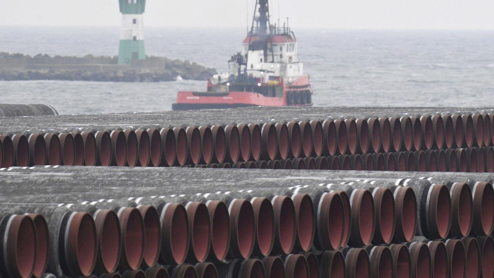 """Санкциите на САЩ срещу """"Северен поток 2"""" са принудили поне 18 компании да се откажат от него"""