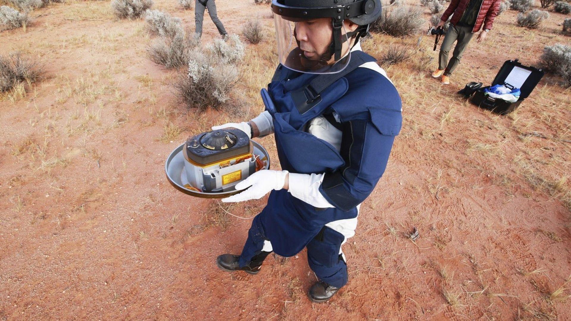 Капсулата с пробите от астероида Рюгу е в идеално състояние: Какво ще кажат те на учените