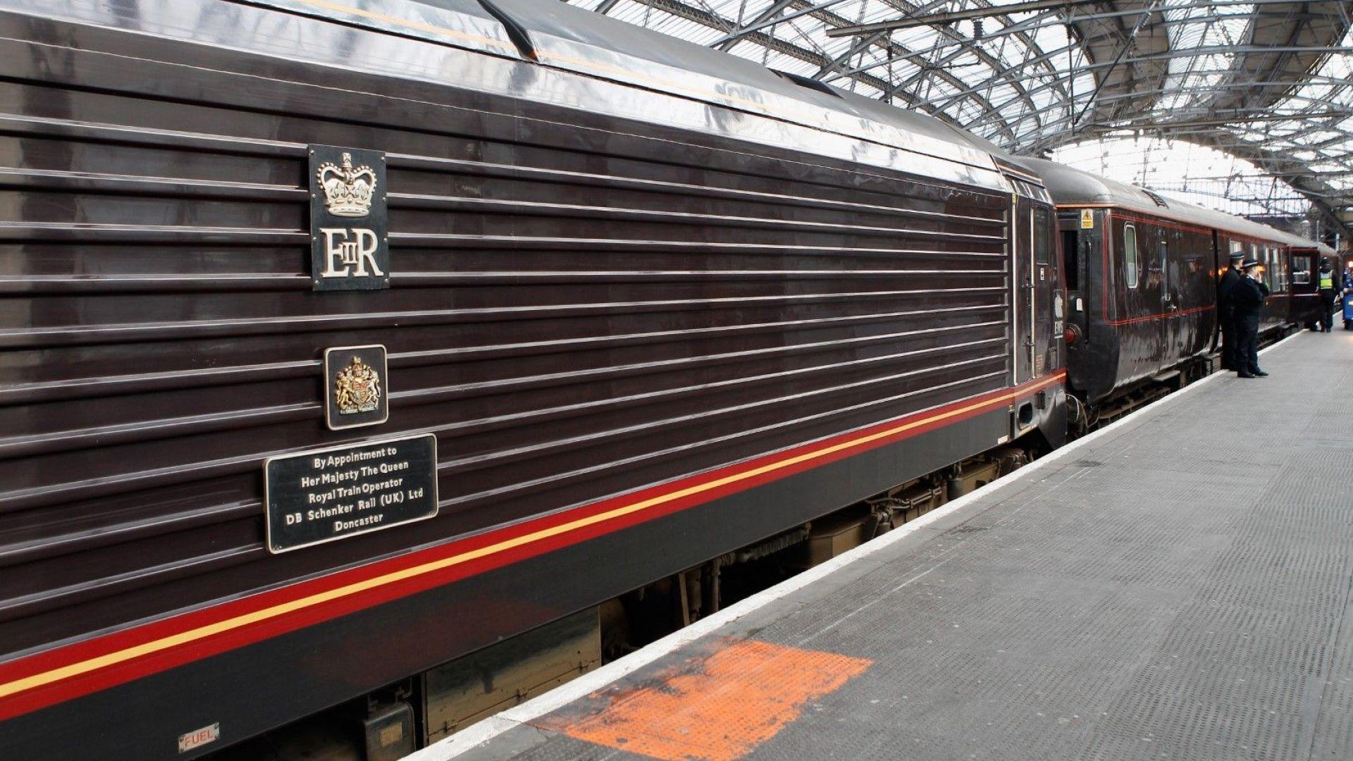 Принц Уилям и съпругата му започват обиколка на Великобритания с кралския влак