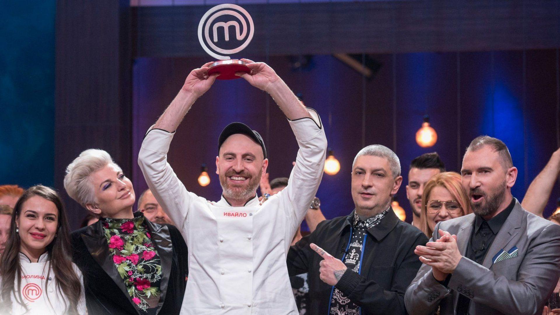 Интелектуалецът Ивайло спечели готварското шоу MasterChef и 100 000 лева
