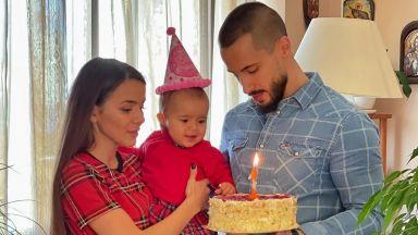 Наум Шопов и Теа Минкова отпразнуваха първи рожден ден на Амая