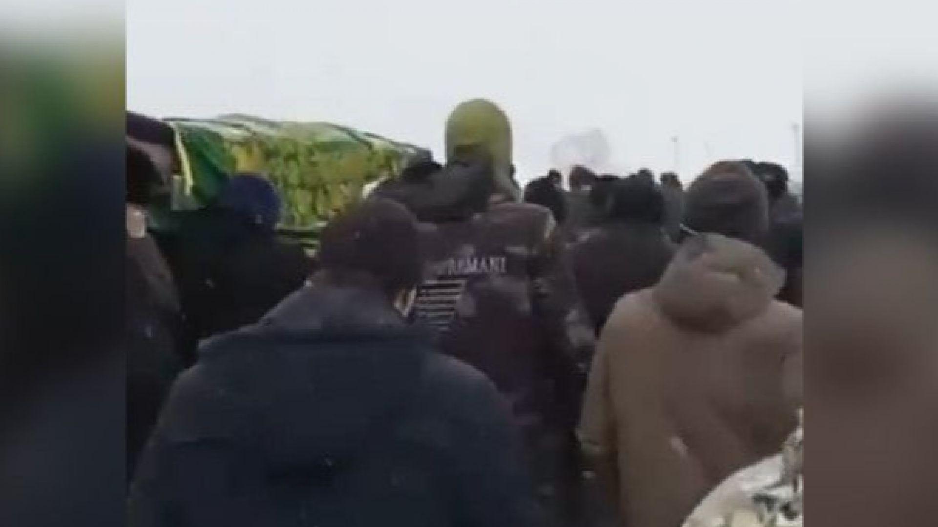Убиецът на френския учител бе погребан в родната си Чечения (видео)