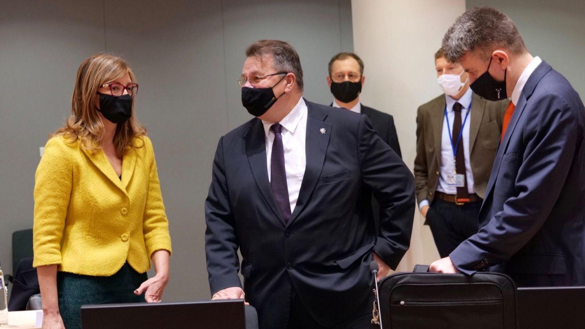 В Брюксел Захариева настоя за пълна визова реципрочност между САЩ и ЕС