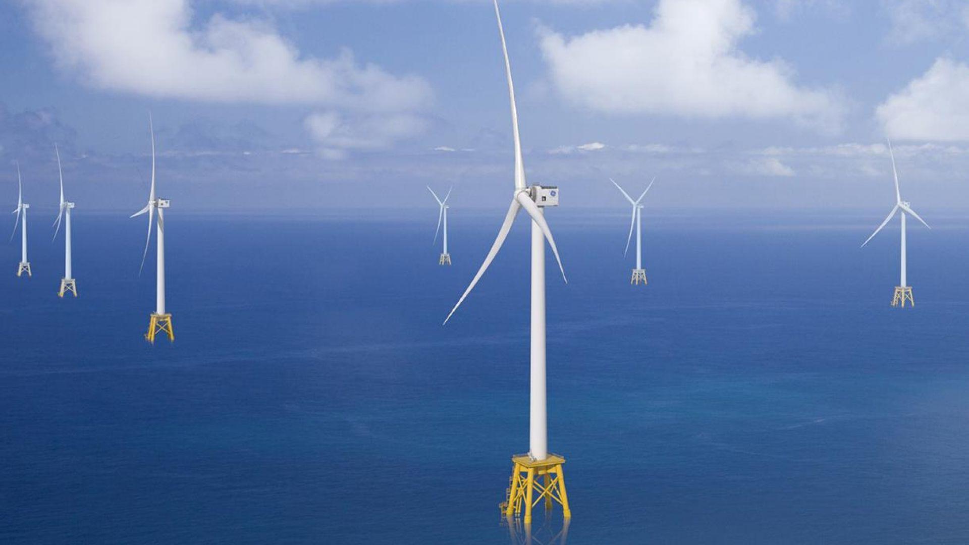 САЩ внедряват най-голямата вятърна турбина