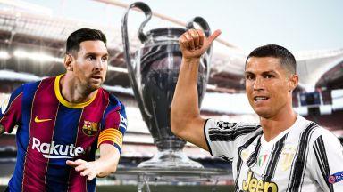 Роналдо и Меси назад в класацията на букмейкърите за голмайстор на Шампионската лига