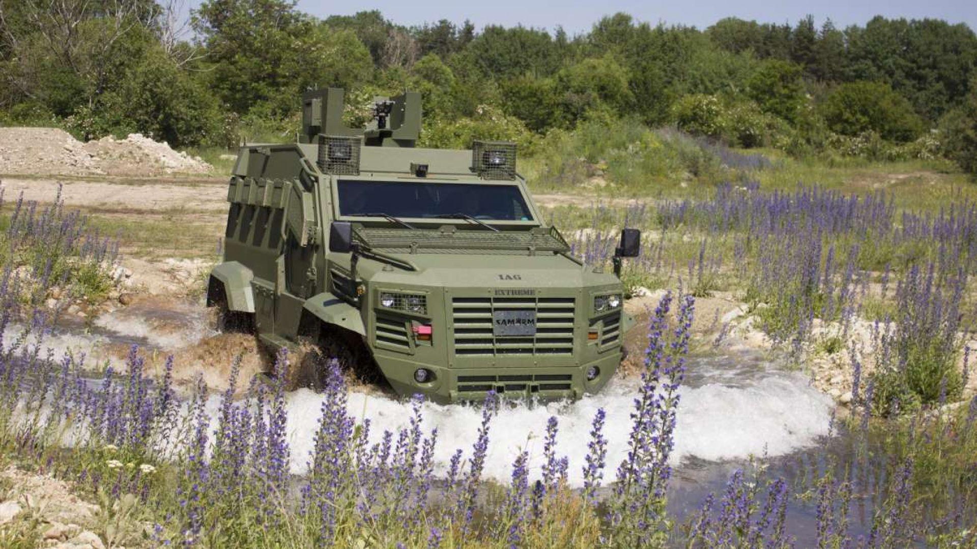 Българските специални сили с нов автомобил (снимки)